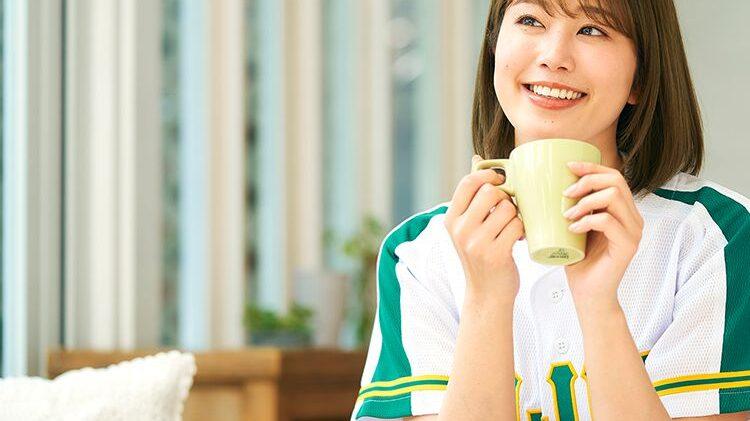 稲村亜美-青汁ラーメンスープ